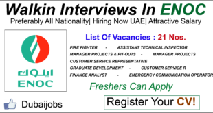 Jobs In Dubai Archives • Page 21 of 24 • Dubaijobz